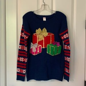 HOLIDAY TIME CHRISTMAS LADIES SWEATER